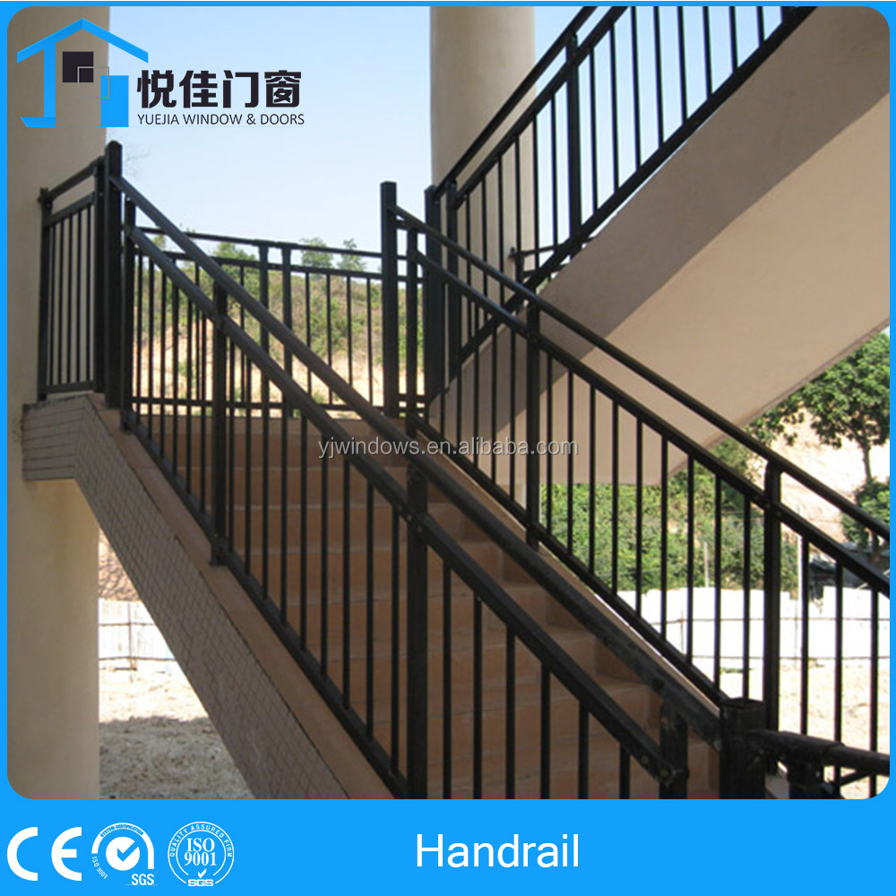 Flexible aluminum fence aluminum porch railings