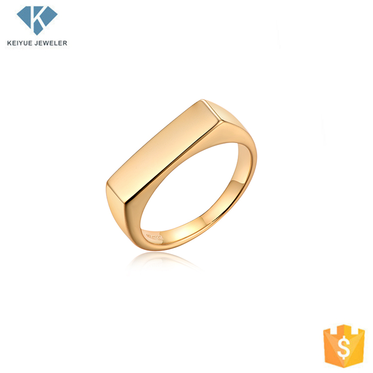 Simple Pakistani Gold Plated Wedding Ring Name Designs Rings Without