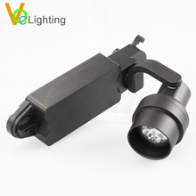 Indoor Aluminum 12V Adjustable MR16 LED Track Spotlight 6.5W
