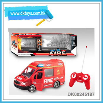 New Toys 1:20 Four-way Remote Control Fire Fighting Truck With 6 Music 4  Sounds For Kids Playing With En71 Astm Certificate - Buy Best Toy Fire