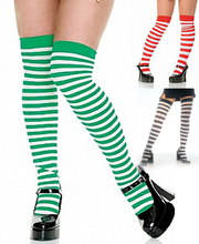 2015 Latest Design Women Stocking Nylon Knee High Stocking For Sexy School Girls Pretty Elastic Long Legs THIGH-HIGH STOCKINGS
