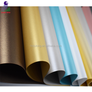 Coloured Pearl Paper Stock for Gift Boxes