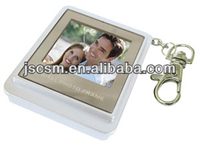 1.5inch LCD digital photo frame keychain, small size digital clock frame, picture frame