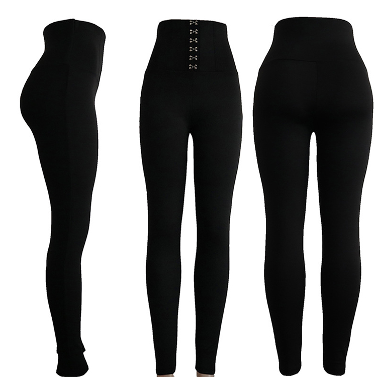 Fashion high waist push up women pants tights woman leggings