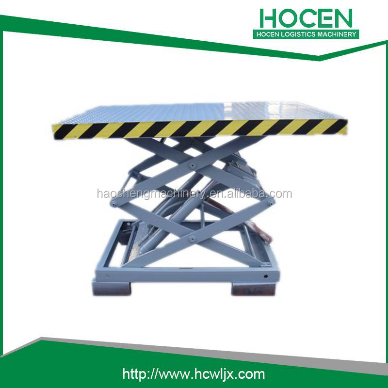 China manufacture self propelled mobile electric scissor lift for sale