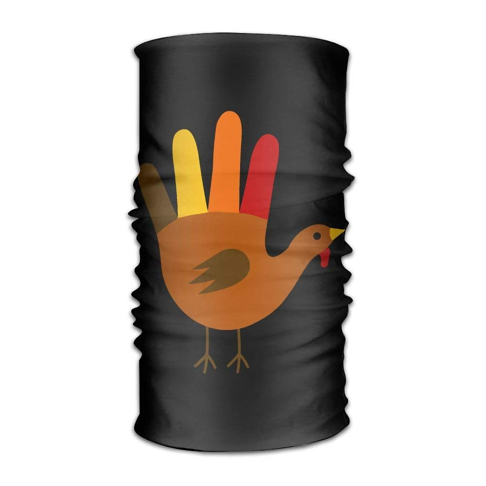 Thanksgiving Hand Turkey Fashion Style Cycling Multifunctional Magic Headwear