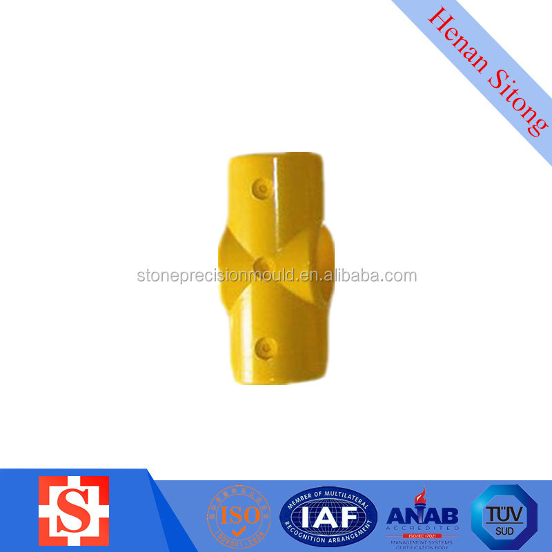 FRP SMC 50mm Round Pipe Cross Joint
