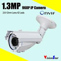 outdoor surveillance systems 960p 1.3mp big discount digital ip POE camera