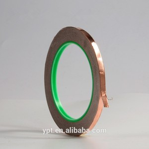 wholesale high quality Copper Foil Adhesive Tape for Fender Guitar /adhesive copper foil tape electrically conductive