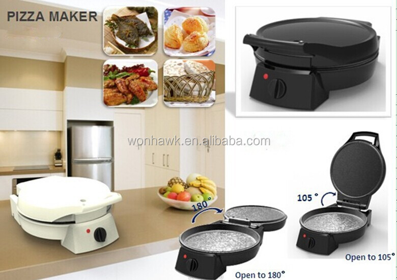 Extra Large and Thick 180 degree open OEM welcomed Electrical Pizza Maker pizza oven