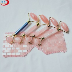 2020 eye care products pink crystal stone eye mask set with amethyst masks