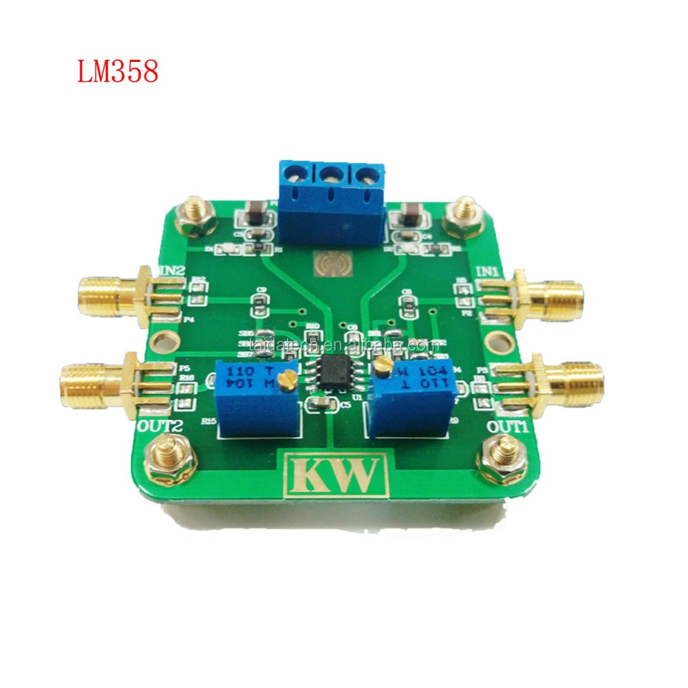 Lm358 Common Mode Rejection Ratio 80db 700khz Bandwidth Low Power Single Chip Audio Preamplifier Lm 358 Consumption Amplifier Signal Booster Rf Buy Amplifieramplifier