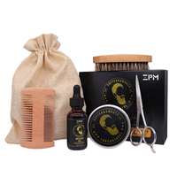 STOCK Beard Growth Grooming & Trimming Kit for Men Dad Beard Care 5pcs/set OEM