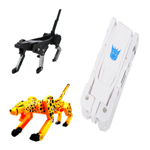 Hot sale animal shape transformers usb momory/usb flash drive