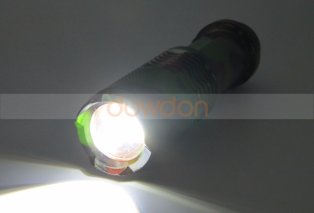 Adjustable Focus Zoom Led Flashlight Xml-t6 Torch Flashlights Mini Torch With Clip