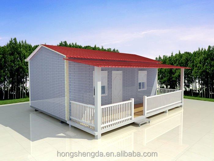 Struktur Baja Ringan Log Cabin Kabin Rumah Kit Rumah