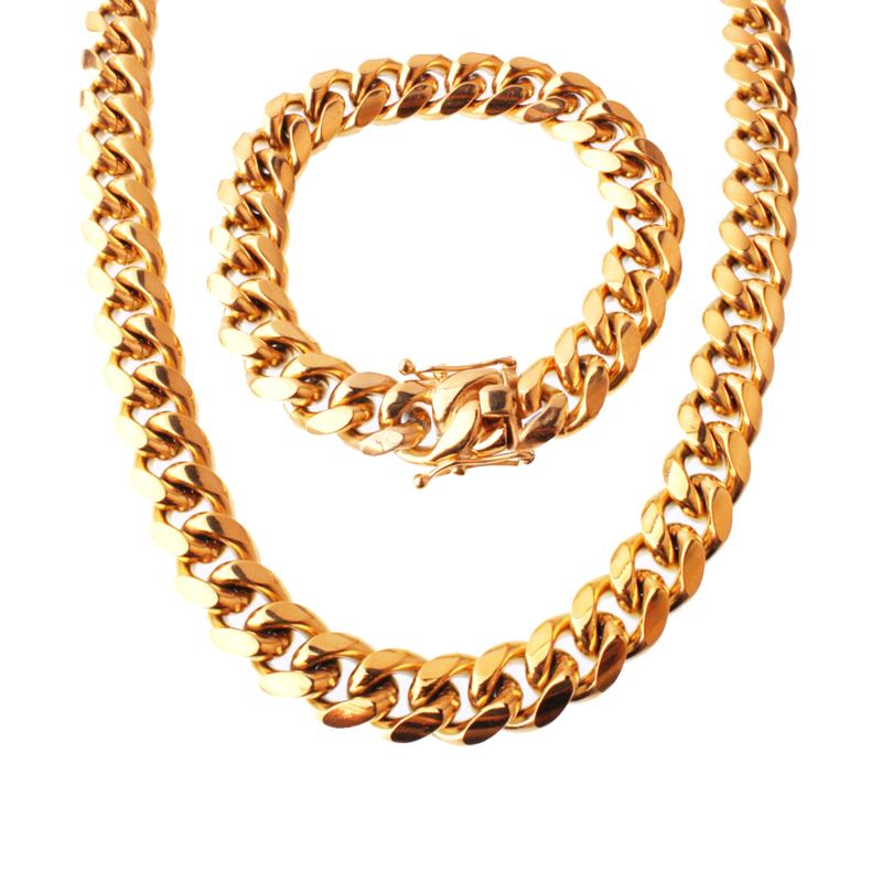 Fashion Mens Designs Bulky Miami 8 10 12 14mm Dubai New Gold Chain Design Cuban Link Chain Buy At The Price Of 14 98 In Alibaba Com Imall Com
