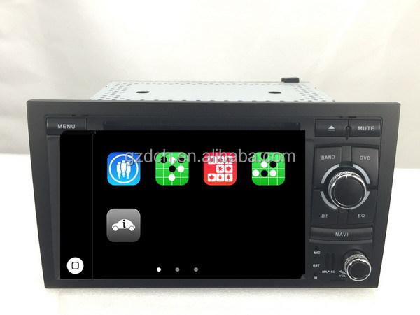 dvd syst me de navigation audio de la voiture pour audi a4 s4 rs4 avec can bus apple ui ws 8745. Black Bedroom Furniture Sets. Home Design Ideas