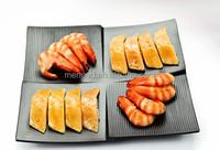 Matte printing food safety snack shop melamine Japanese sushi set
