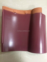 lowes High stregth fireproof concrete spanish porcelain red clay roof tiles price manufacturers