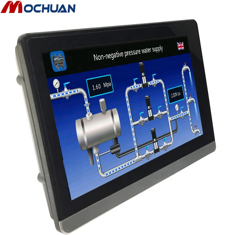 cheap mini industrial panel pc price with hmi touch screen monitor