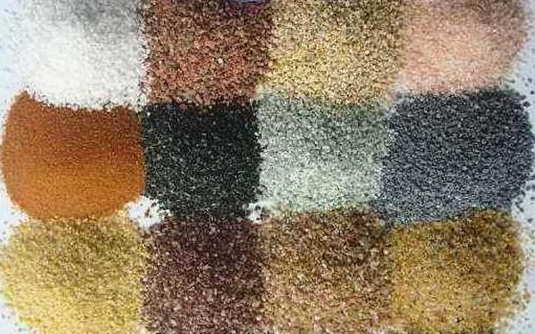 ナチュラル色の砂