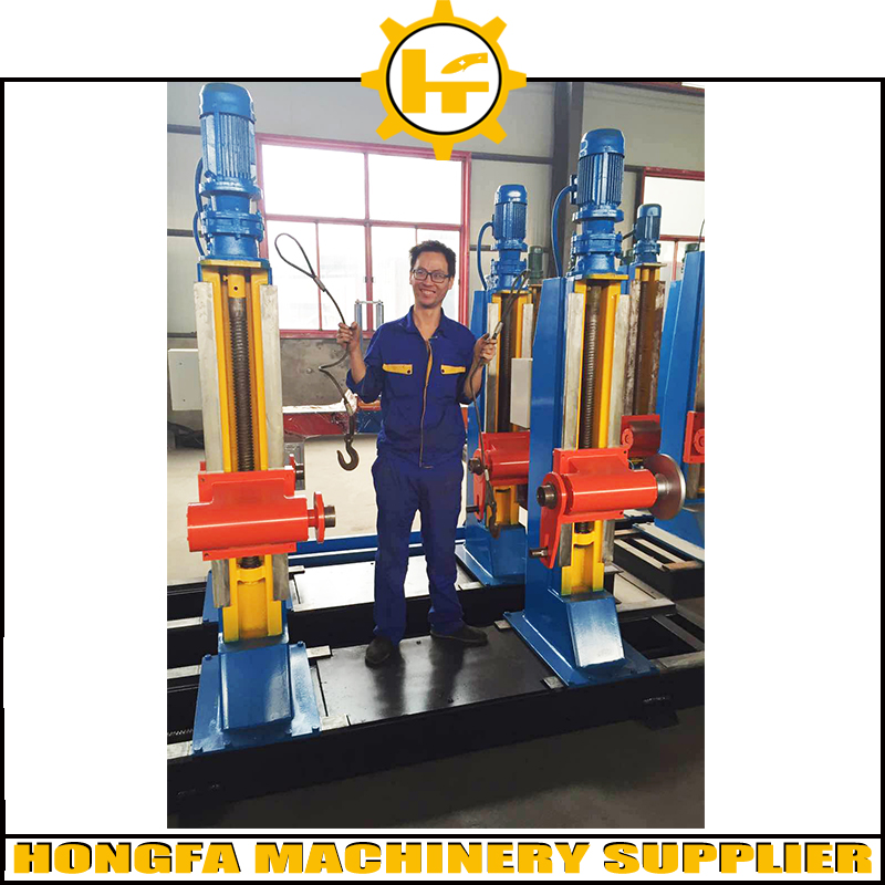 high load electrical cable reel stands in cable manufacturing equipment