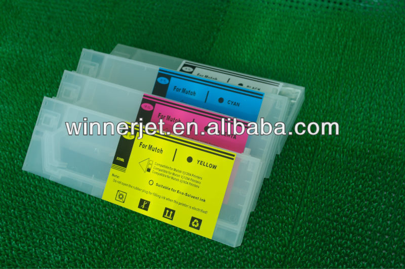 Wide Format Refill Ink Cartridge Compatible For Mutoh Vj1204/ Vj1304/ Vj1604