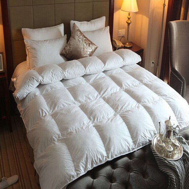 Factory supply white cotton duvet bedding set king size