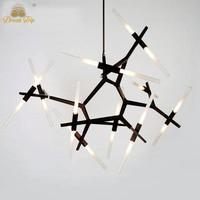 Modern Glass Pendant Light Decorative Hanging Pendant Light ...