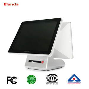12.1 inch touch screen restaurant pos system all in one cheap pos machine