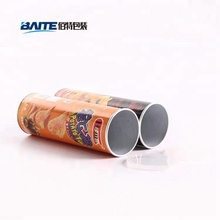 Custom Food Grade Potato Chips Packaging Tube