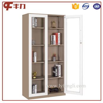 Kd Design Office Glass Door Steel Filing Cabinet Design/glass ...