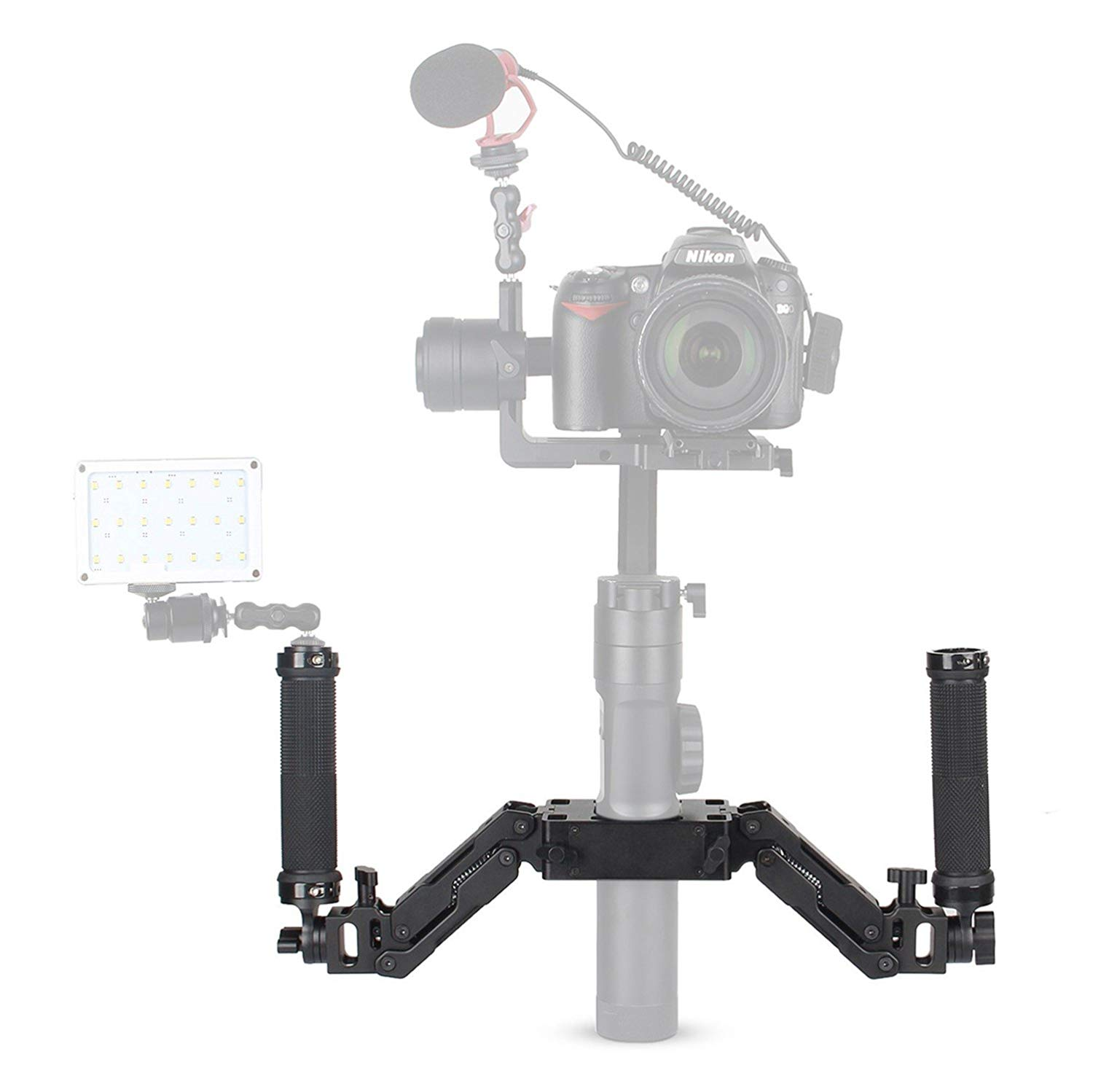 Dual Handle Stabilizers for DJI Roin S w//Gimbal Stabilizer Grip Handheld Kit US