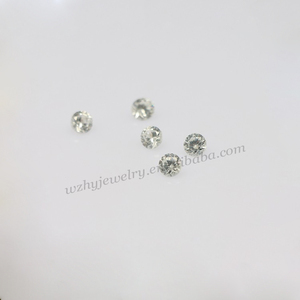 1000pcs a bag 1. 25mm Round Brilliant Cut Natural White Zircon stones