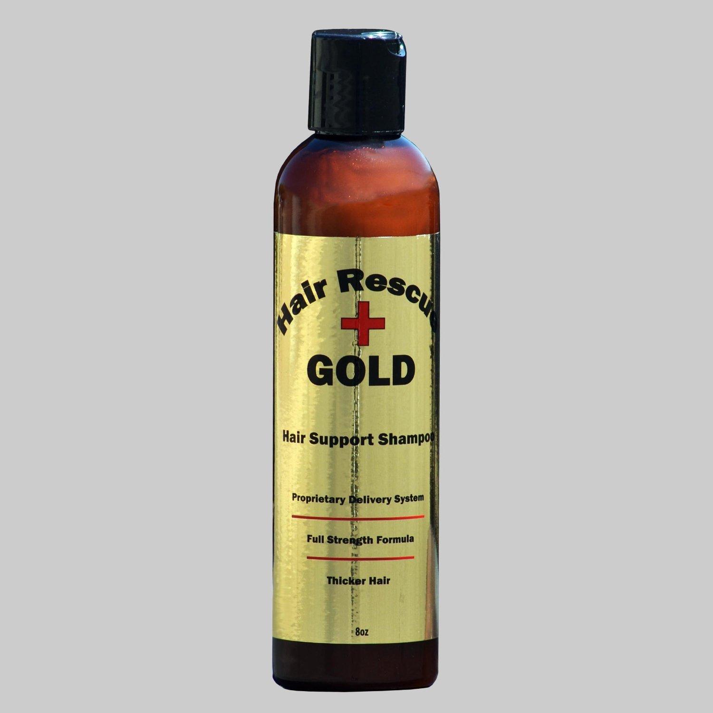 Hair Rescue GOLD Plus Shampoo ★ Hair Growth Shampoo ★ Anti Hair Loss Shampoo ★ Jojoba Seed ★ Stop Hair Loss