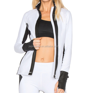 Sexy Cool Jacket OEM/ODM high Quality jacket with glove tight leggings set