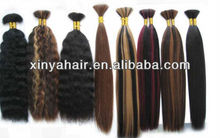 Any length,an color and any texture can available virgin hair bulk