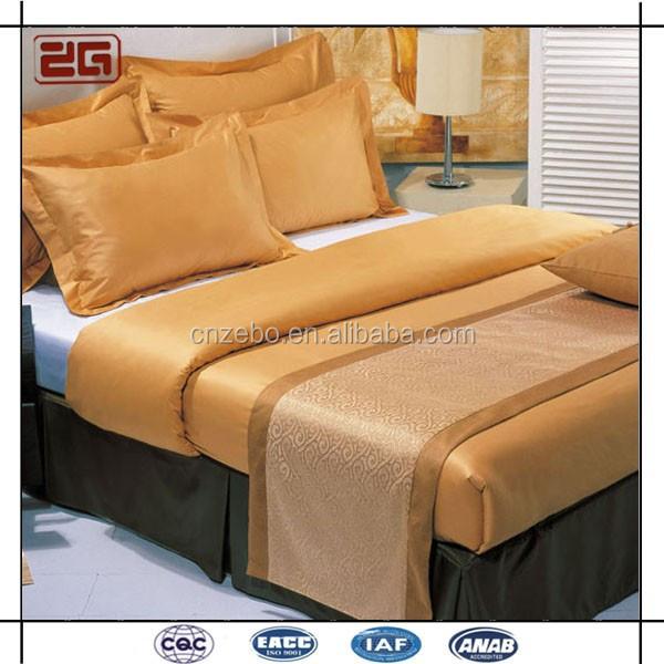 hei er verkauf gro handel ma geschneiderte jacquard king queen gr e hotel bett schal bett. Black Bedroom Furniture Sets. Home Design Ideas
