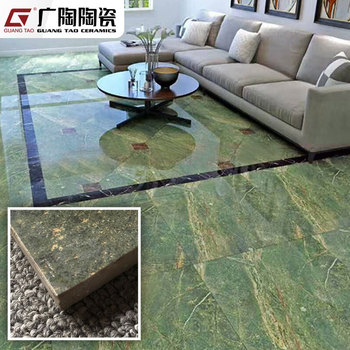 Living Room Polished Porcelain Non Slip 3d Cement Marble Style Vitrified Floor Tiles Designs 600