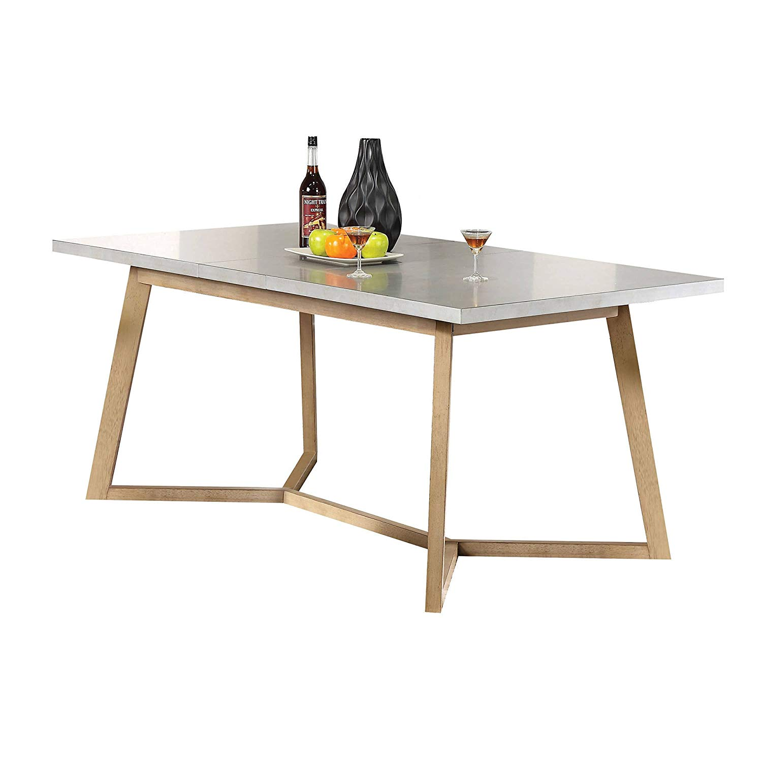 Wood Dining Table with Butterfly Leaf, Durable Construction, Space Saving Design, Rectangular Shape, Functional, Perfect for Kitchen, Dining Room, Beige Color + Expert Guide