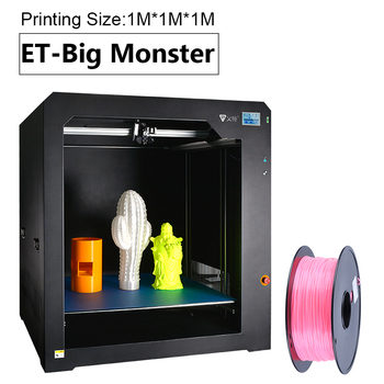 1 Meter Huge Size Big Printing Large 3D Printer 100 CM Available Print Hot Bed PLA Material