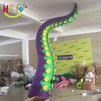 led circus party supplies inflatable octopus tentacles