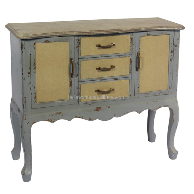 Home Decoration Nice Design Multi Functional Marble Buffet Side Table