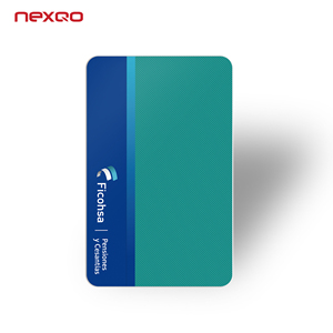 Plastic 125khz RFID smart card with photo printing TK4100 key card