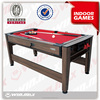 billiard and snooker cue ,7ft airhockey, Swichable billiard table