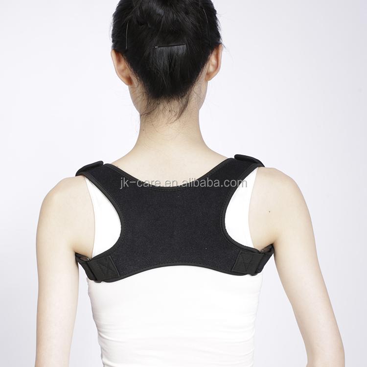 più venduto postura supporto per la schiena tutore spalla postura correttore indietro cinghia di sostegno per correggere cattiva postura