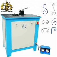 DH-DW16E Wrought Iron Metal Scroll Bender Manual Steel Scroll Bending Machine