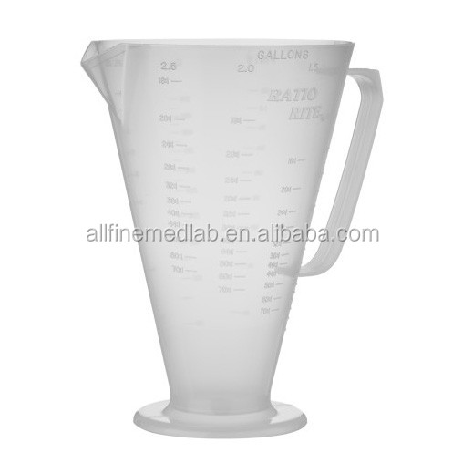 Lab Glass Measuring cup, 200ml, 500ml,1000ml, 4000ml