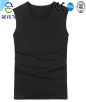 aofeite wholesale fashionable gym man custom t shirt in plus size under wear